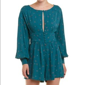 New free people love grows romper m